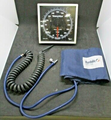 Welch Allyn Blood Pressure Wall Gauge, Bystolic Durable 2-Piece Cuff