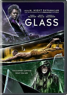 Glass (DVD + SLIPCOVER)  BRAND NEW + FREE  SHIPPING
