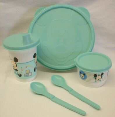 Tupperware Disney's Baby Mickey Mouse Feeding Set