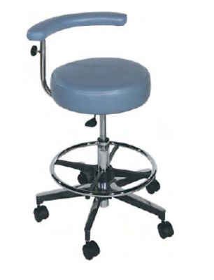 New Galaxy Round Seat w/ Adjustable Foot Rest & Body Support 1066