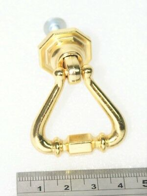 Clock Case Accessories - Polished Brass Door Pull