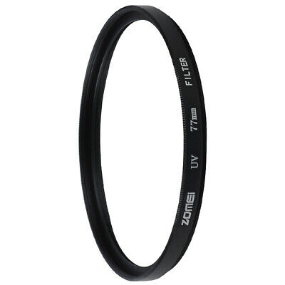 ZOMEI UV Ultra-Violet 77mm Lens Filter Protector For Canon Nikon Sony Cameras