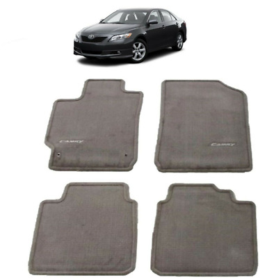 2007-2011 Camry Floor Mats TAUPE Carpet 4 Piece Genuine Toyota PT206-32100-45