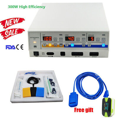 300W Electrosurgical Unit Electric Knife Diathermy Cautery Machine FDA Passed AA