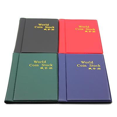 10 Pages 120 Coin Holder Collection Storage Case World Coin Pocket Album Book 1X