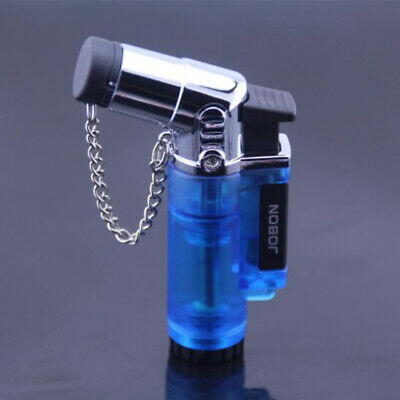 Jobon Angle Spray Gun Style Eagle Jet Torch Flame Windproof Smoke Cigar Lighter