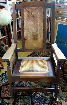 Stickley - Mission - Arts & Craft - Style? - Cane Seated Rocking Chair