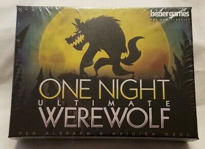 One Night Ultimate Werewolf Game Brand New Sealed Bezier Games 2018 3-10 Players