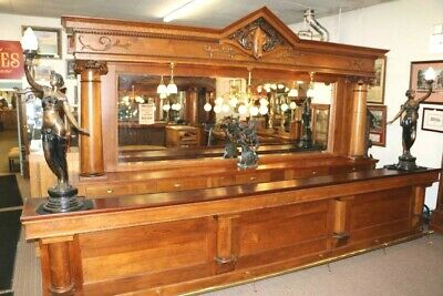 Antique Back Bar from St. Louis Missouri