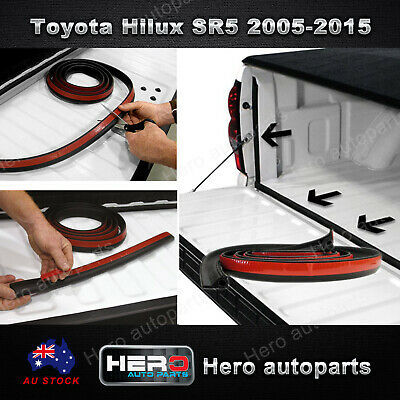Tailgate Seal Kit For Toyota Hilux Sr5 2005-2015 Ute Rubber Dust Tail Gate Seal