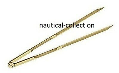 """Proportional Divider Solid Brass Drawing Tool Professional 8"""" Long Solid Brass"""
