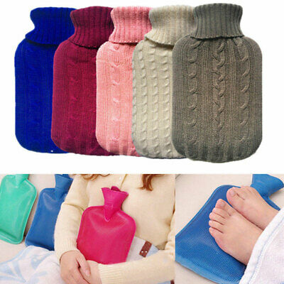 2000ml Large Knitted Hot Water Bag Bottle Cover Case Heat Warm Keeping Coldproof