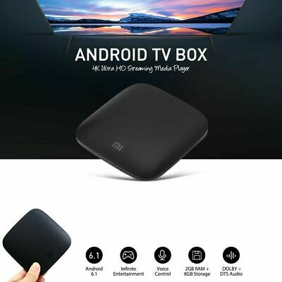 Xiaomi Mi Box 4C 4K International Android TV Box Streaming Media Player ME