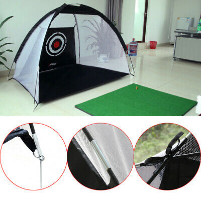 Foldable Golf Practice Driving Chipping Hitting Net Aid Training Cage w/Free Bag