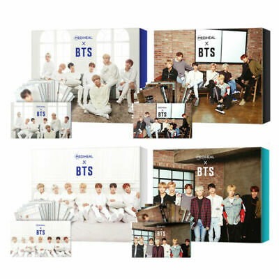 MEDIHEAL X BTS Facial Mask Sheet Special Set Mask Sheet 10ea+ BTS Photocard 14ea