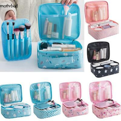 Travel Makeup Cosmetic Toiletry Case Wash Organizer Storage Pouch Hanging Bag #1