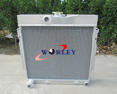 500 2ROW ALUMINUM Radiator For Chrysler Cordoba Dodge Aspen Plymouth