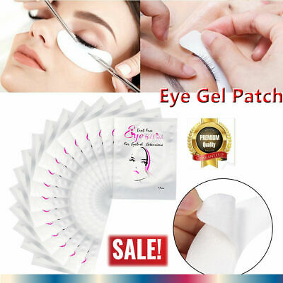 100PCS Eye Pad Eyelash Pad Gel Patch Lint Free Lash Extension Eye Mask Eyepad FL