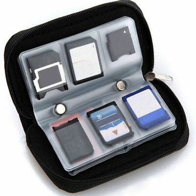 CF/SD/SDHC/MS/DS 3DS Game Memory Card Storage Carrying Case Holder Wallet