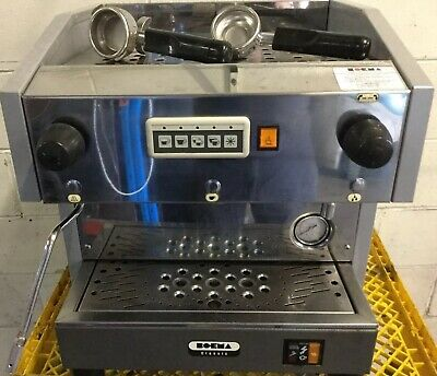 Commercial CAFE BAR = BO-EMA Single Group Espresso Coffee Machine Refurbished