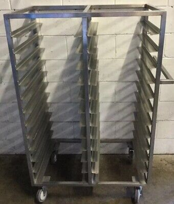 Commercial Bakery Cafe Mobile Freestanding TwinBay Caterers Bakers Rack