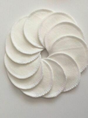 Reusable Organic Bamboo Eco Makeup Remover pads / Rounds - Sent from Vic