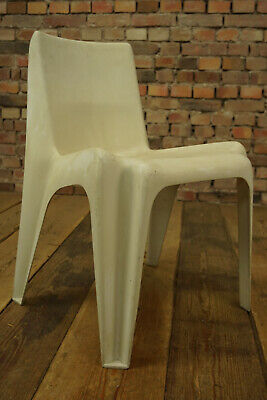70er Vintage Esszimmer Stuhl Danish Easy Side Chair Space Age Bofinger