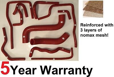 Reinforced Full Radiator Silicone Hose Kit For Subaru Impreza Wrx Sti 2001-2007