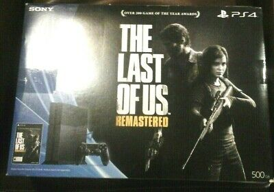 New Sony PlayStation 4 The Last of Us Remastered Bundle 500gb Console PS4 System