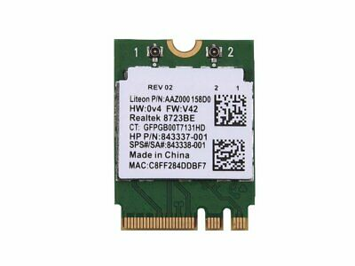 REALTEK RTL8723BE WIRELESS LAN Wifi Bluetooth PCI-E Card (MLP044)