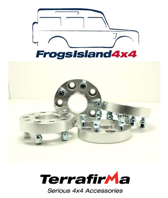 TF3004 TERRAFIRMA SET OF 5 WHEEL SPACERS 30mm WITH STUDS FOR JEEP WRANGLER JK