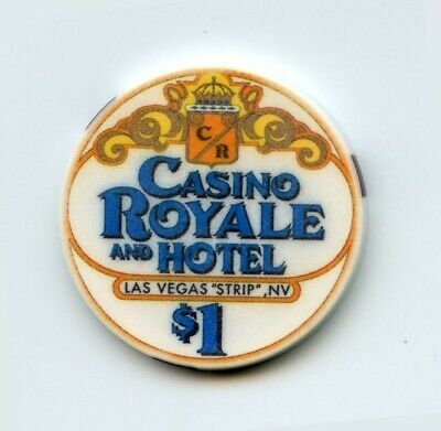 1.00 Chip from the Casino Royale Las Vegas Nevada Chipco