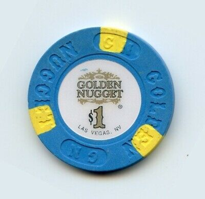 1.00 Chip from the Golden Nugget Casino Las Vegas Nevada with R