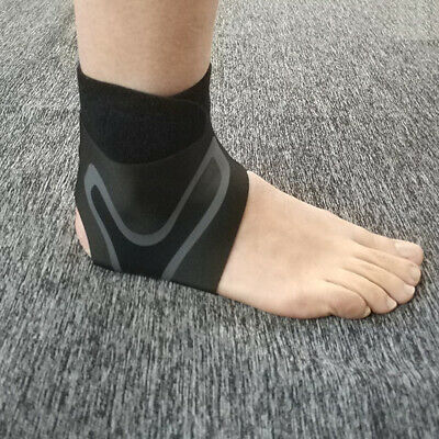 1Pc Ankle Support Strap Adjustable Wrap Bandage Brace Foot Pain Relief Sport Cal