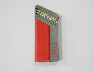 Original 1984 Monaco F1 GP Ferrari Cartier Cigarette Cigar Lighter