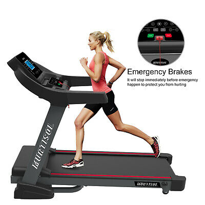 2.5HP Powerful Electric Treadmill Bluetooth Folding Running Exercise Machine