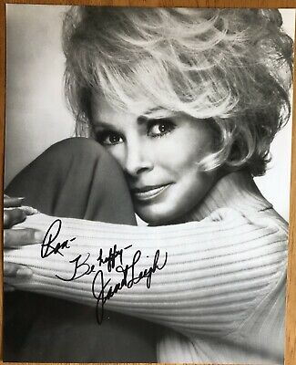 """Psycho"" Actress Janet Leigh Autograph Photo"