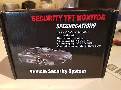 "4.3"""" Stand Security TFT Monitor Vehicle Security Car Rear-view System"