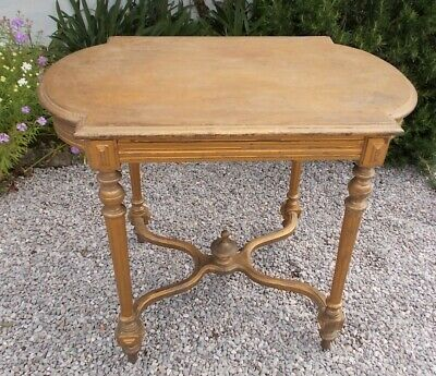 Gilt French Side Table - Louis XVI side table
