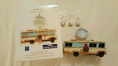 Hallmark 2009 Cousin Eddie's RV Christmas Vacation Ornament New
