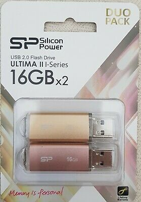 Clé USB 32GB (2x16) Ultima II I-Series Silicon Power