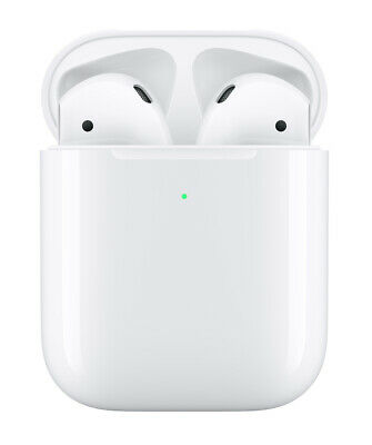 Apple AirPods 2nd Gen - White w/ Wireless Charging Case