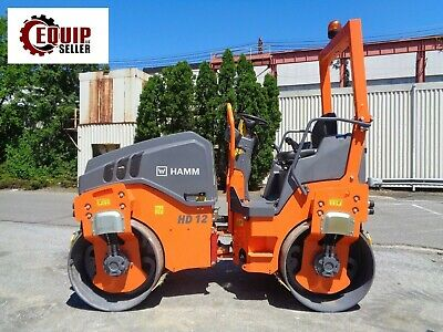 New 2018 Hamm HD12 Tanden Asphalt Vibratory Roller - 47in Drums