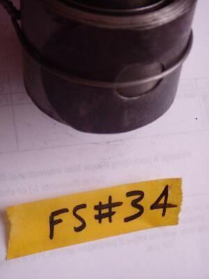 FS#34 FUSEE MOVEMENT CLOCK MAIN SPRING  / mainspring approx depth 41.7mm
