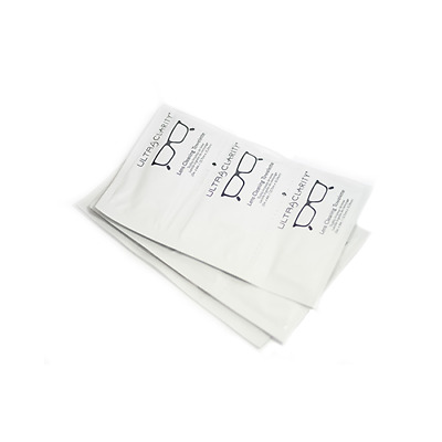 Ultra Clarity Lens Cleaning Towelettes Bulk 500-1000 Tri-Strips (1500-3000 pcs)