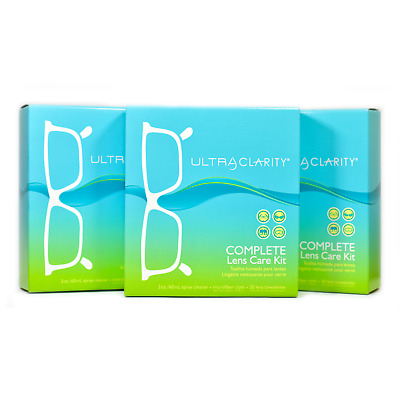 Ultra Clarity Complete Lens Care Kit