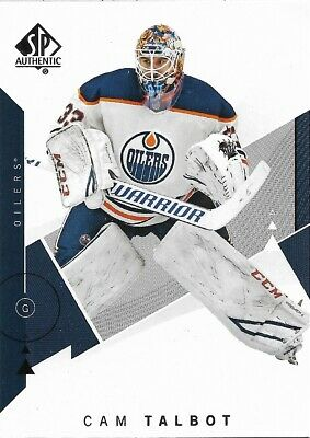 Cam Talbot #93 - 2018-19 SP Authentic - Base