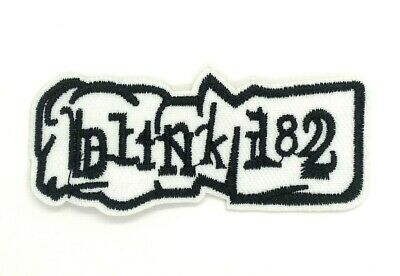 US SELLER Blink-182  Music Rock Band Blink 182 sew or Iron On Patch 1529