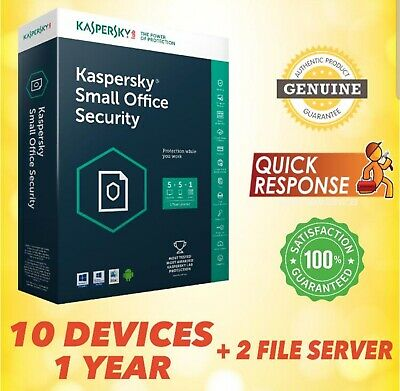 Kaspersky Small Office Security 2019 V6 | 2 Server, 10 Device GLOBAL LICENSE