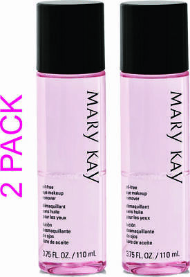 Mary Kay Oil Free Eye Makeup Remover 3.75 fl. oz 2 PACK FREE SHIPPING